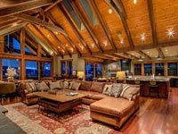 Welcome to an architecturally stunning Sandpoint, Idaho, lifestyle! From the moment you arrive at the 40 foot porte coch�re of this residence