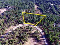 Lot 10 - 5.02 acres in Saddle Ridge Estates - Subdivision in Sagle, Idaho