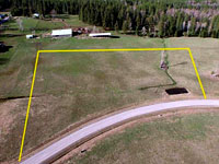 Lot2 - 4.55 acres in Saddle Ridge Estates - Subdivision in Sagle, Idaho