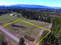 Lot 3 - 5 acres in Saddle Ridge Estates - Subdivision in Sagle, Idaho