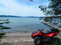 Great Priest Lake water view lot with lake access in Coolin Idaho. Priest Lake is one of the most desired vacation hot spots.