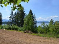 "Great Lake Pend Oreille view property ready to build on with good road access overlooking Hope Idaho. ""Big View"" property."