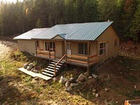 2014 home with 20 acres for building shops and keeping your animals.
